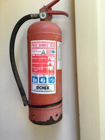 Rusty Fire Extinguisher Picture Of Hosteria El Copihue