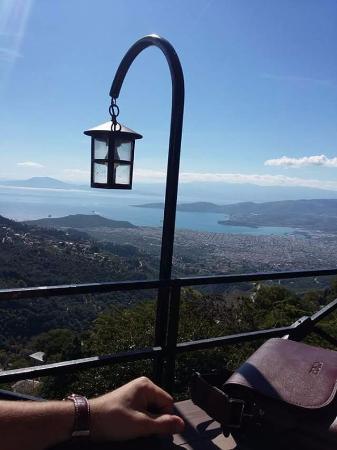 Makrinitsa, Yunani: Ο Βόλος από την Μακρυνιτσα!!!!!!