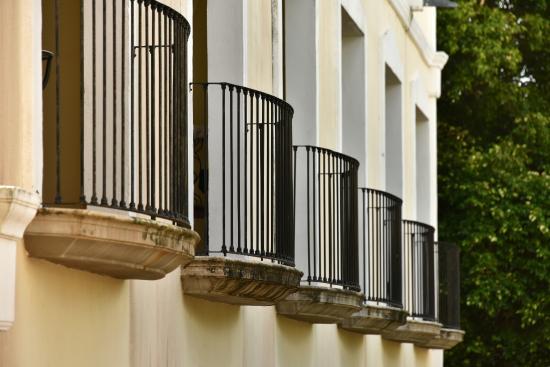 Dreams Tulum Resort & Spa: balconies on second floor