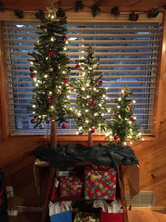 Idyllwild, CA: Christmas Decor
