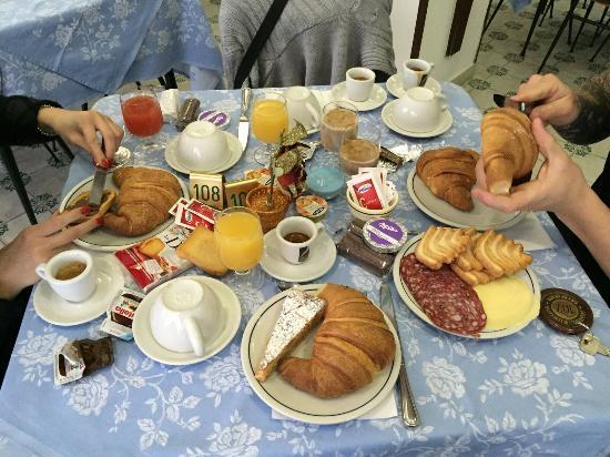 Hotel Europa: Una ricca colazione qui nn può mancare! 👍
