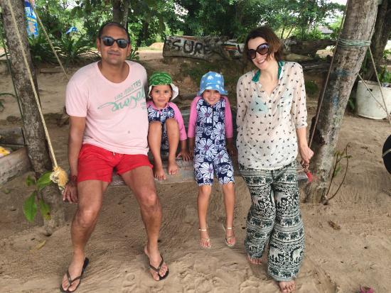 Habaraduwa, Sri Lanka: On the beach