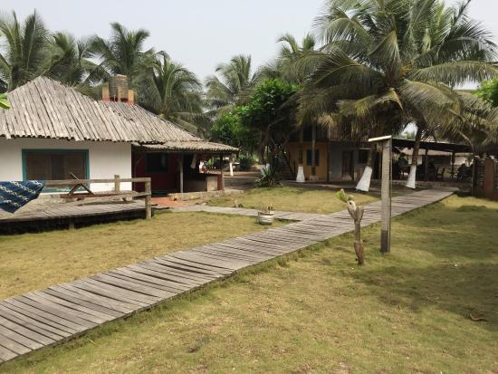 Beach Bungalow Picture Of Fanta S Folly Busua Tripadvisor