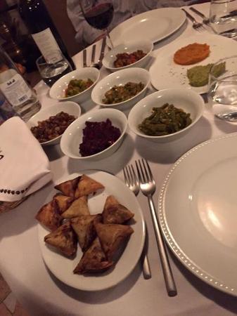 Riad Kheirredine: First course of dinner