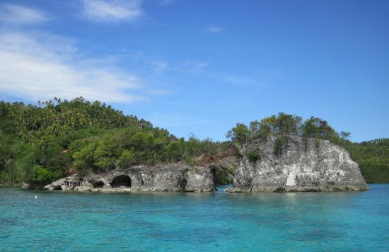 Sarangani island