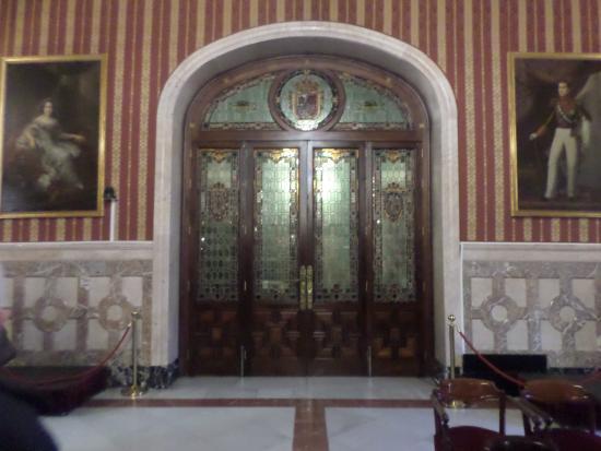 Ayuntamiento (City Hall) : Hotel de ville de Séville - vues intérieures