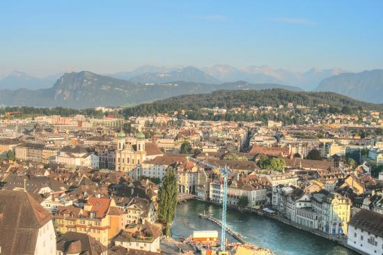 The Nine Towers: Amazing views over Lucerne