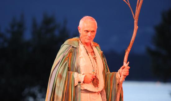 Bard on the Beach Shakespeare Festival: Alan Morgan in The Tempest (2014)
