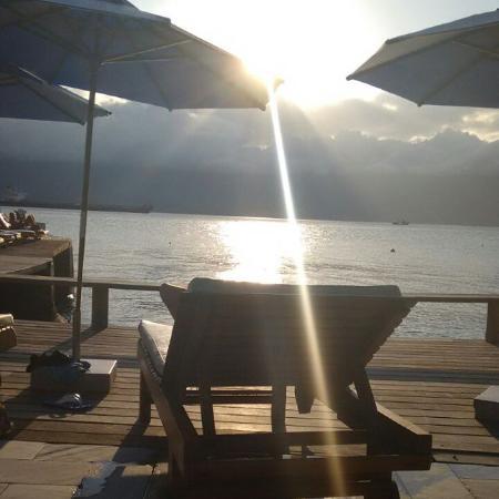 Hotel Mercedes: por do sol!!