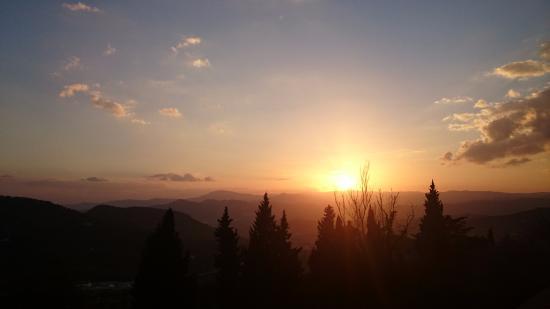 Alcaucin, İspanya: Vistas desde el balcón