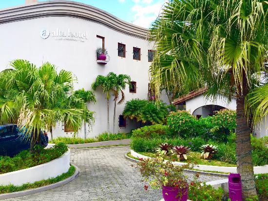 Hotel Alta Las Palomas: Entrance