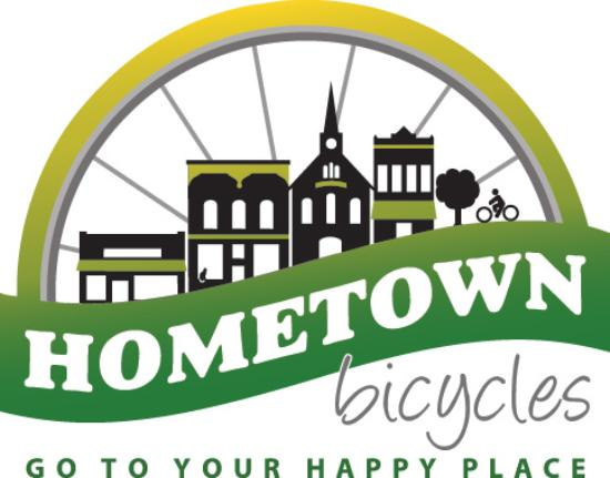 Brighton, MI : Hometown Bicycles logo