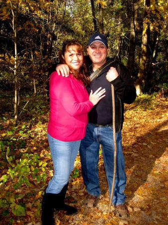 Rockwood, Canada: Mi esposo y yo