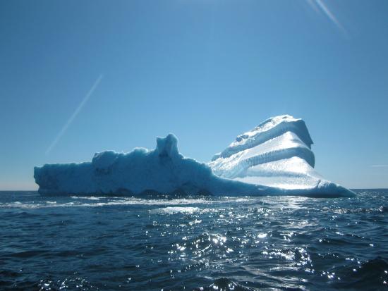 Quirpon Island, Καναδάς: Iceberg on Zodiac Tour