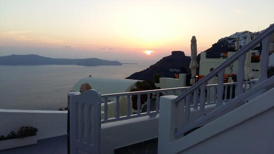 Santorini View: Vista da sacada