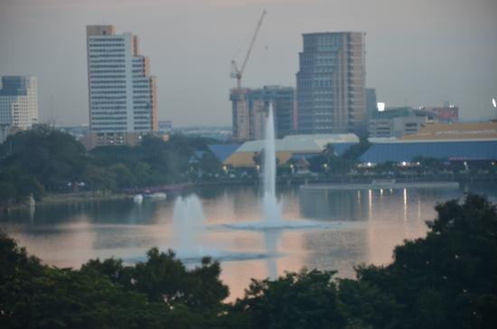Sukhumvit 12 Bangkok Hotel & Suites: The view from the room