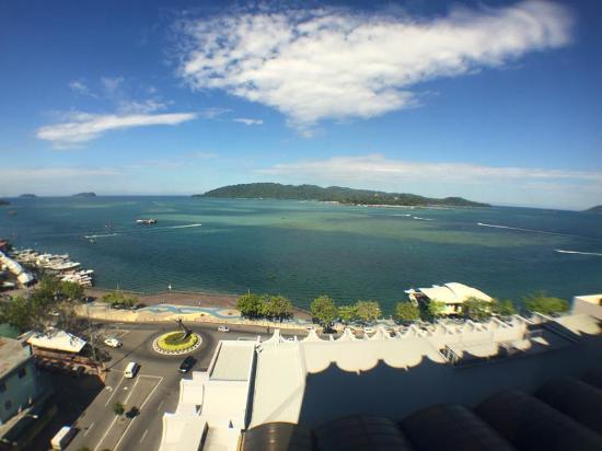 Hyatt Regency Kinabalu: View from room 1218