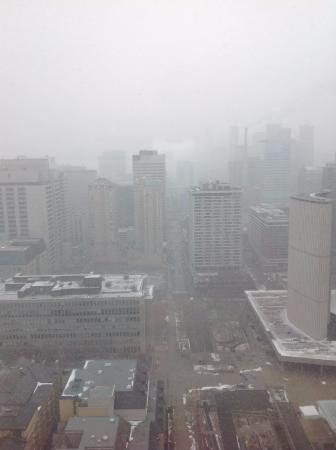 Sheraton Centre Toronto Hotel: View from our room