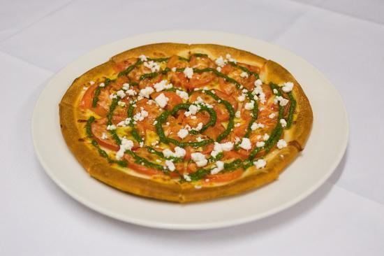 Vegetarian pizza picture of deco camberwell tripadvisor