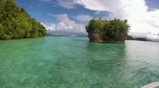 Уэпи, Соломоновы острова: Islands in the Morovo Lagoon