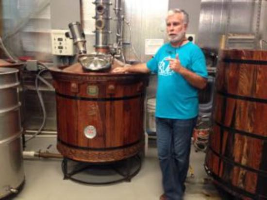 The making of Daufuskie Island rum
