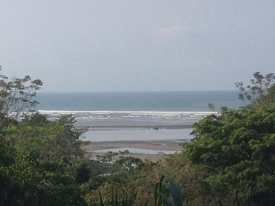 Playa Tortuga, Costa Rica: View from the patio