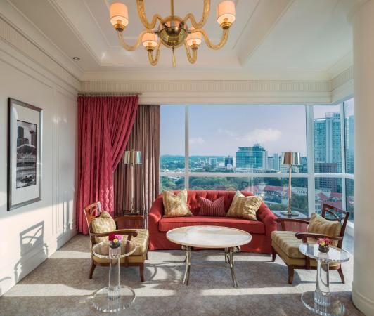 The St. Regis Singapore: Caroline Astor Suite Living Room