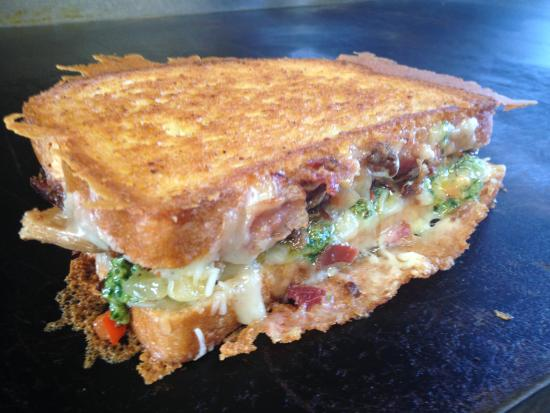 Meltz Extreme Grilled Cheese: ELEVEN ACRE SWINE