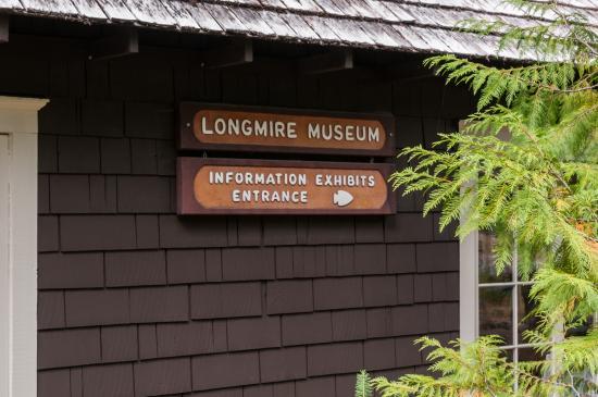 Longmire Museum with Ranger Information