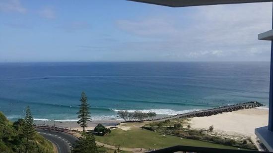 Beach House Seaside Resort: View from 16th floor
