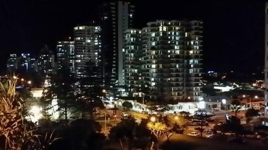 Beach House Seaside Resort: Night view