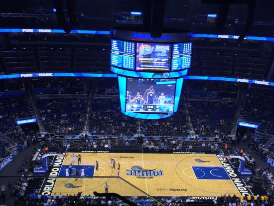orlando magic vs indiana pacers picture of amway center orlando rh tripadvisor co za