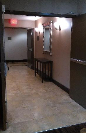 Comfort Inn (Yulee): Hallway to our room