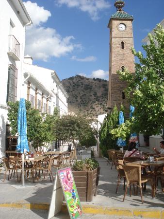 La Bodega Almedinilla: terraza