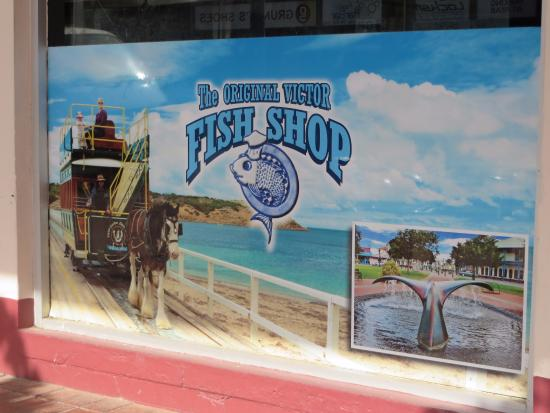 The Original Victor Harbor Fish Shop: de zaak