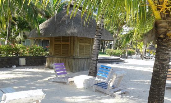 Beachcomber Le Victoria Hotel: coin detente