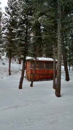 Lost Trail Hot Springs Resort: Cabin
