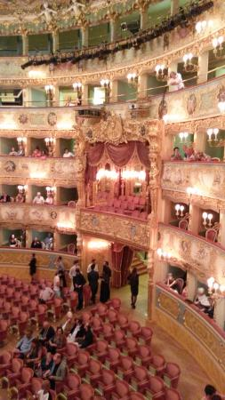 sports shoes 6ad78 bd5b8 Vista palco - Bilde av Teatro La Fenice i Venezia - TripAdvisor