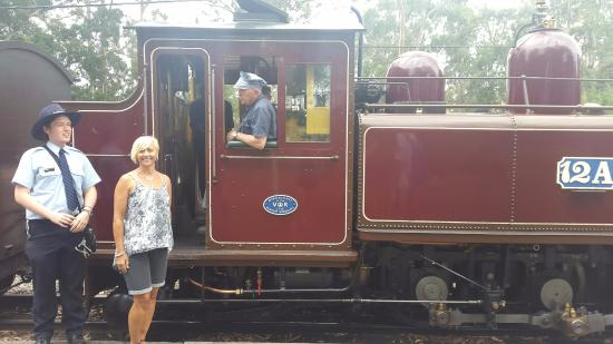 Puffing Billy Railway: Conductor and me