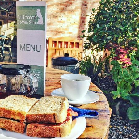 Nutbrook Coffee Shop: Bacon sandwich