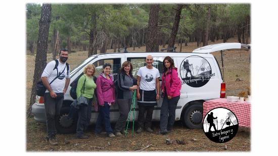 Víznar, España: Equipo de Entre bosques y fogones