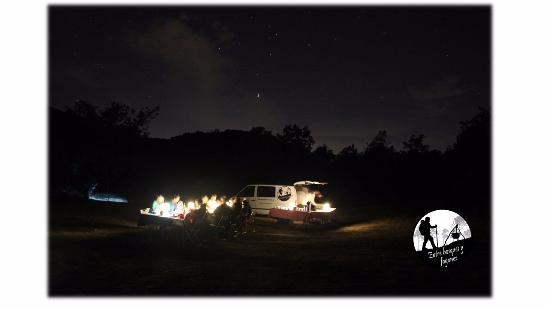 Viznar, Espanha: Veladas bajo las estrellas: Senderismo de tarde + cena bajo las estrellas + Sesión de Astronomía