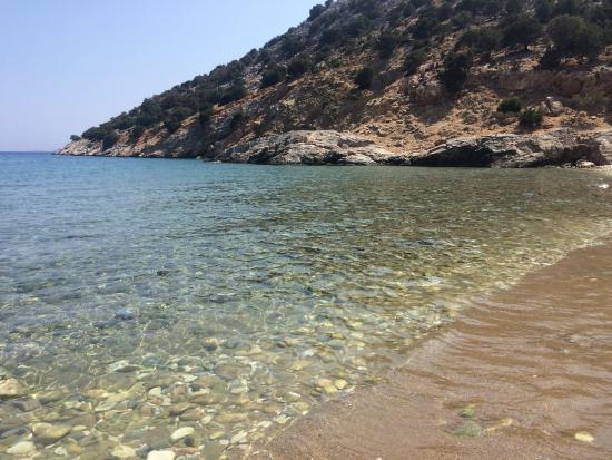 Moutsouna, Grecia: plage sur l'ile