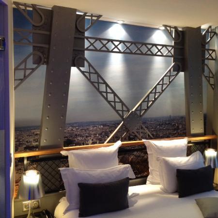 Hotel Design Secret de Paris: Eiffel Tower bedroom
