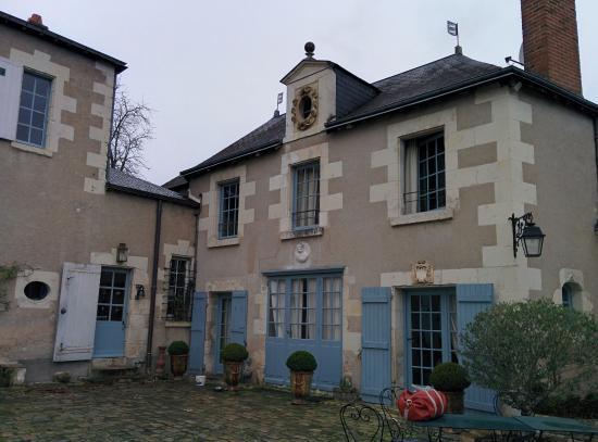 Les Douves d'Onzain: la palazzina con la camera al primo piano