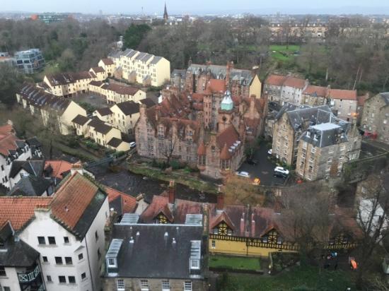 B+B Edinburgh: Dean village desde la habitacion