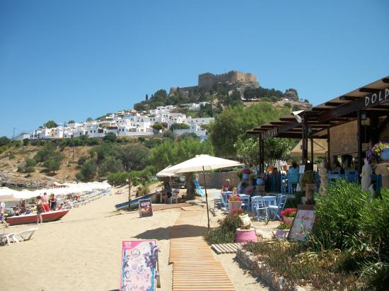 Lindia Thalassa Resort: Lindos beach