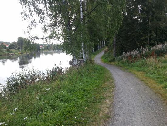 Skellefteå, İsveç: percorso a piedi o in bici