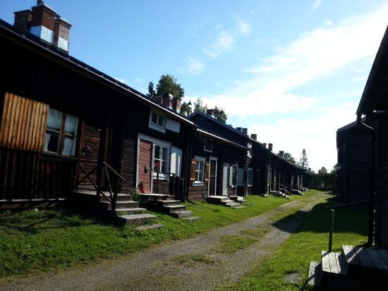 Skellefteå, İsveç: vecchio borgo conservato come una volta