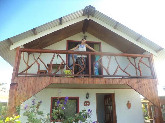 Cabanas Hinariru Nui: NUESTRO HOGAR EN LA ESTADIA !!!! HASTA PRONTO !!!